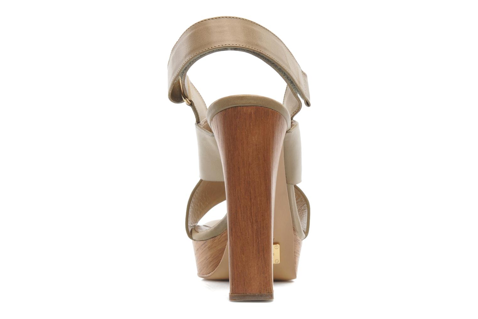 Sandals Michael Michael Kors Mayana Beige view from the right