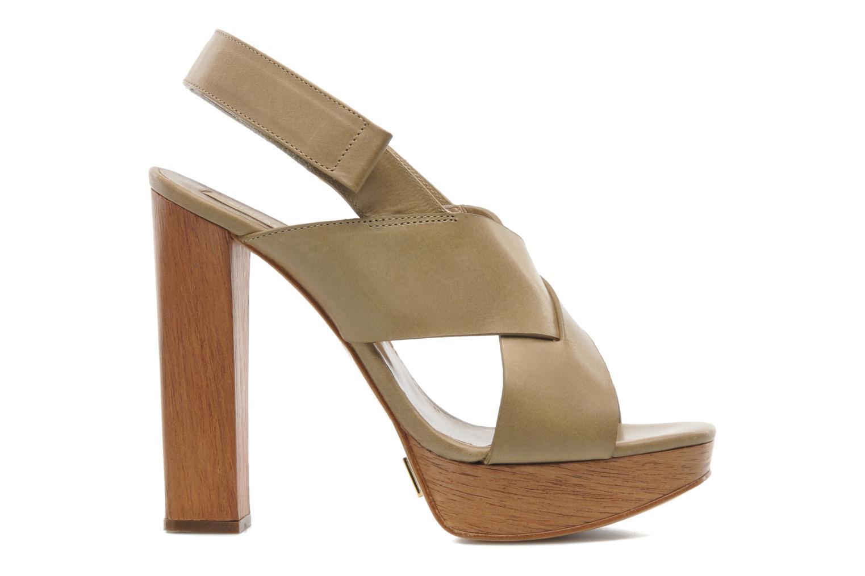 Sandales et nu-pieds Michael Michael Kors Mayana Beige vue derrière
