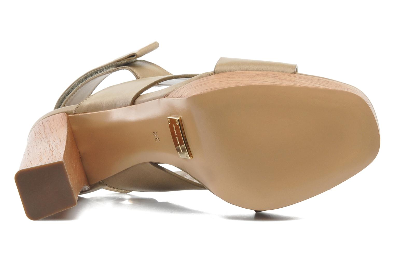 Sandals Michael Michael Kors Mayana Beige view from above