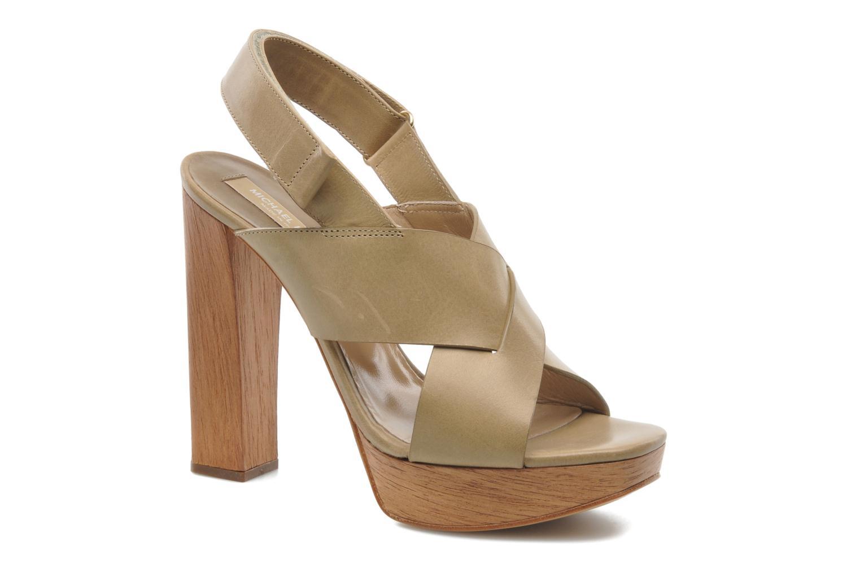 Sandales et nu-pieds Michael Michael Kors Mayana Beige vue détail/paire
