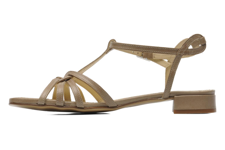 Sandales et nu-pieds Elizabeth Stuart Amelie Beige vue face