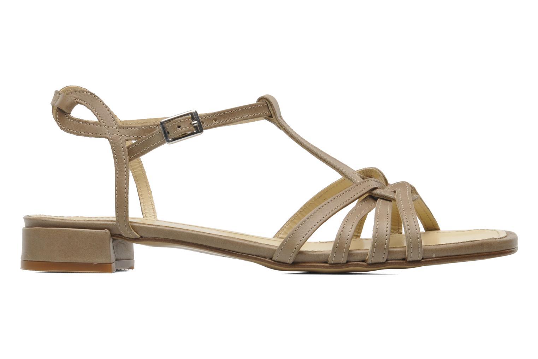 Sandales et nu-pieds Elizabeth Stuart Amelie Beige vue derrière