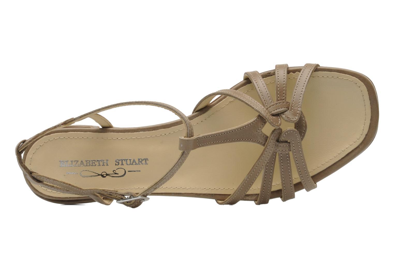 Sandales et nu-pieds Elizabeth Stuart Amelie Beige vue gauche