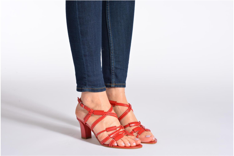 Sandales et nu-pieds Elizabeth Stuart Bakou Noir vue bas / vue portée sac
