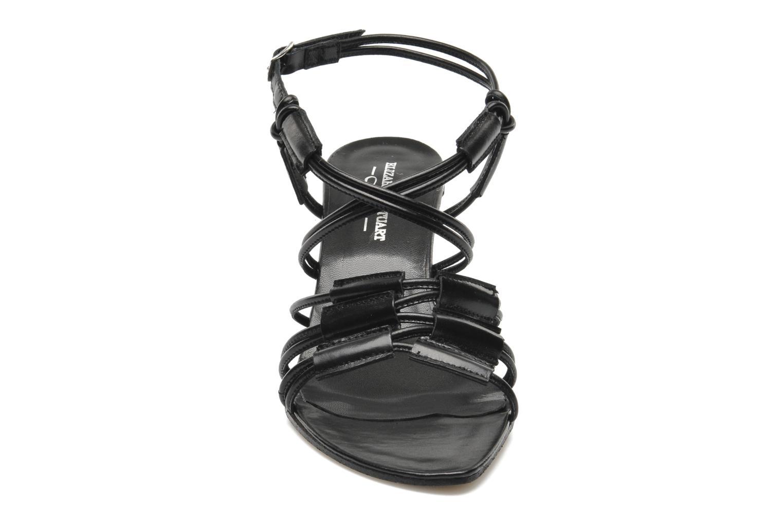 Sandales et nu-pieds Elizabeth Stuart Bakou Noir vue portées chaussures