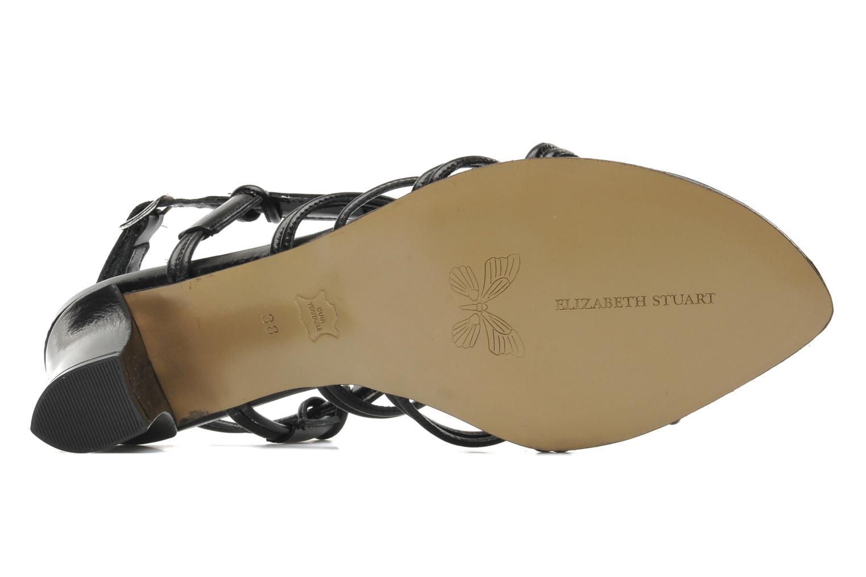 Sandales et nu-pieds Elizabeth Stuart Bakou Noir vue haut
