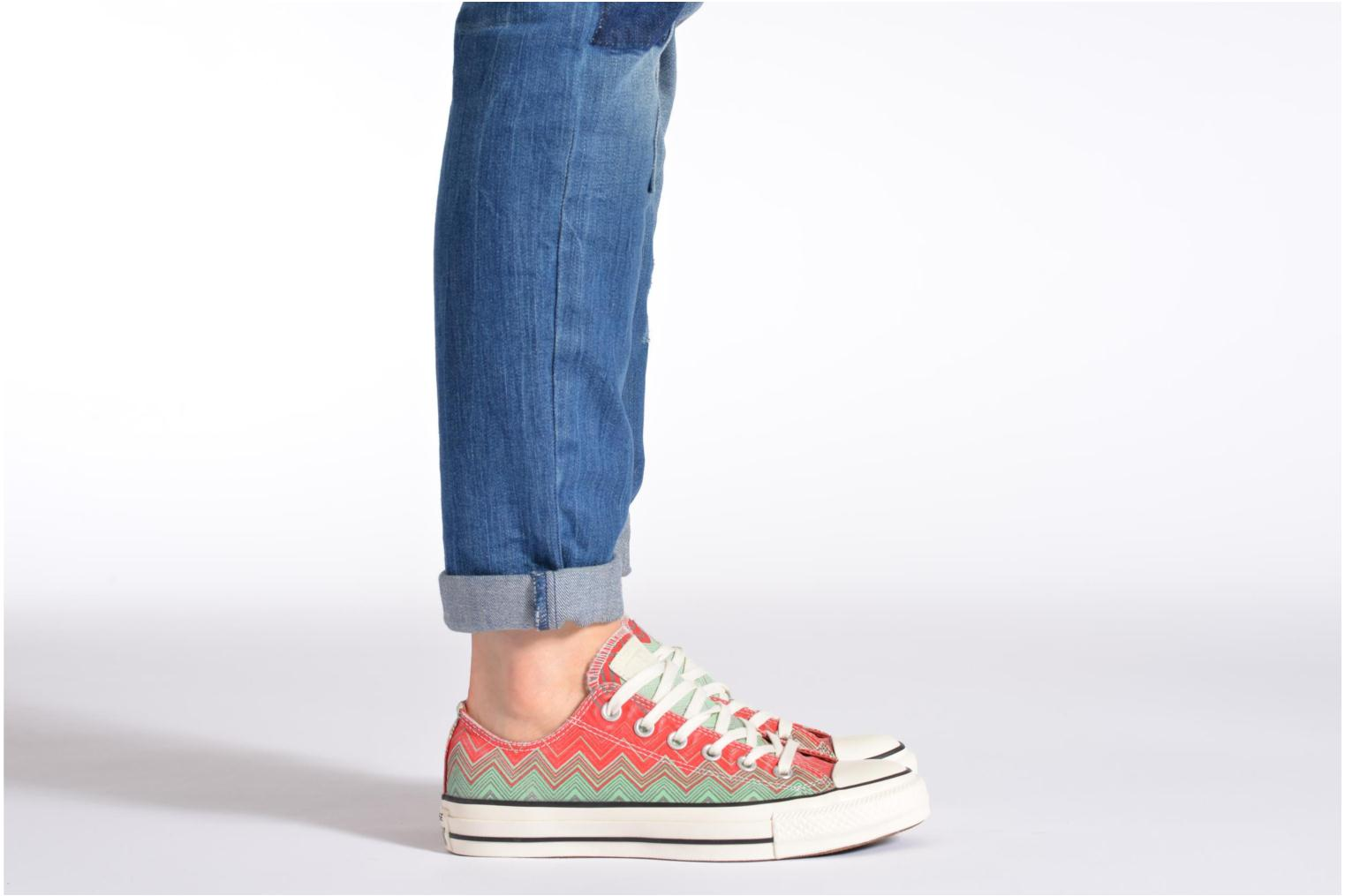 Chuck Taylor All Star Missoni Wash Ox W Rose-Bleu