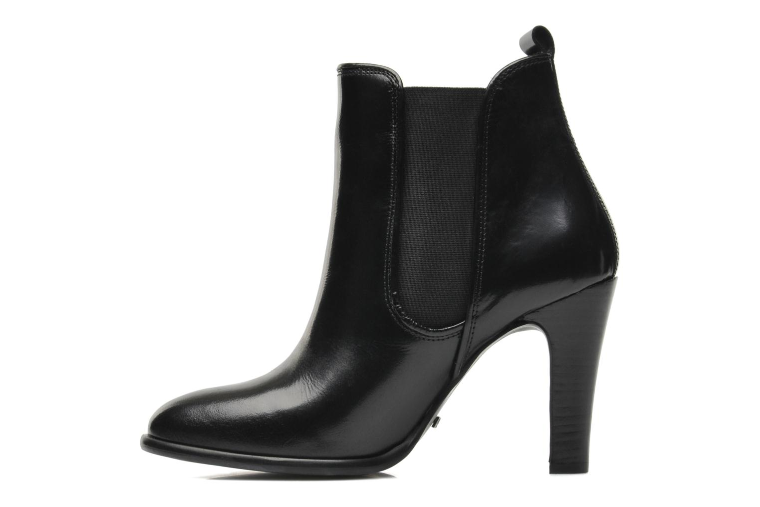Bottines et boots Buffalo Laura Noir vue face