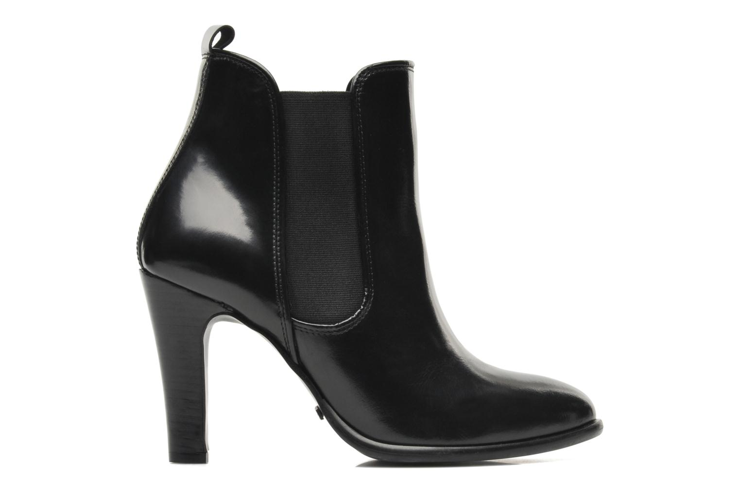Ankle boots Buffalo Laura Black back view