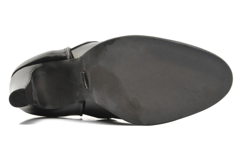 Bottines et boots Buffalo Laura Noir vue haut