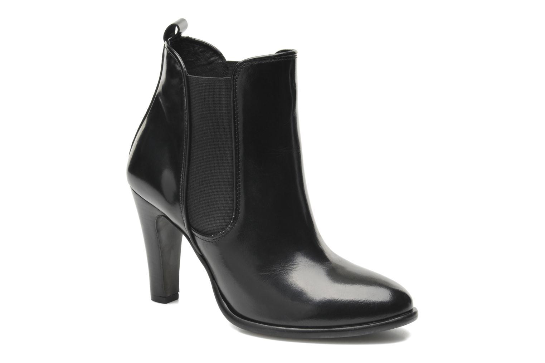 Bottines et boots Buffalo Laura Noir vue détail/paire