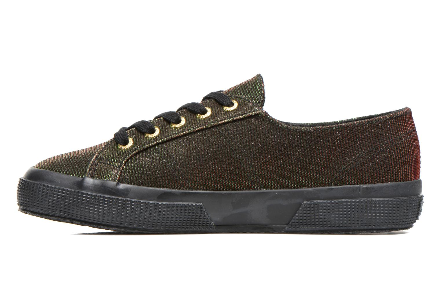 Trainers Superga 2750 Jersey Sunshine W Green front view