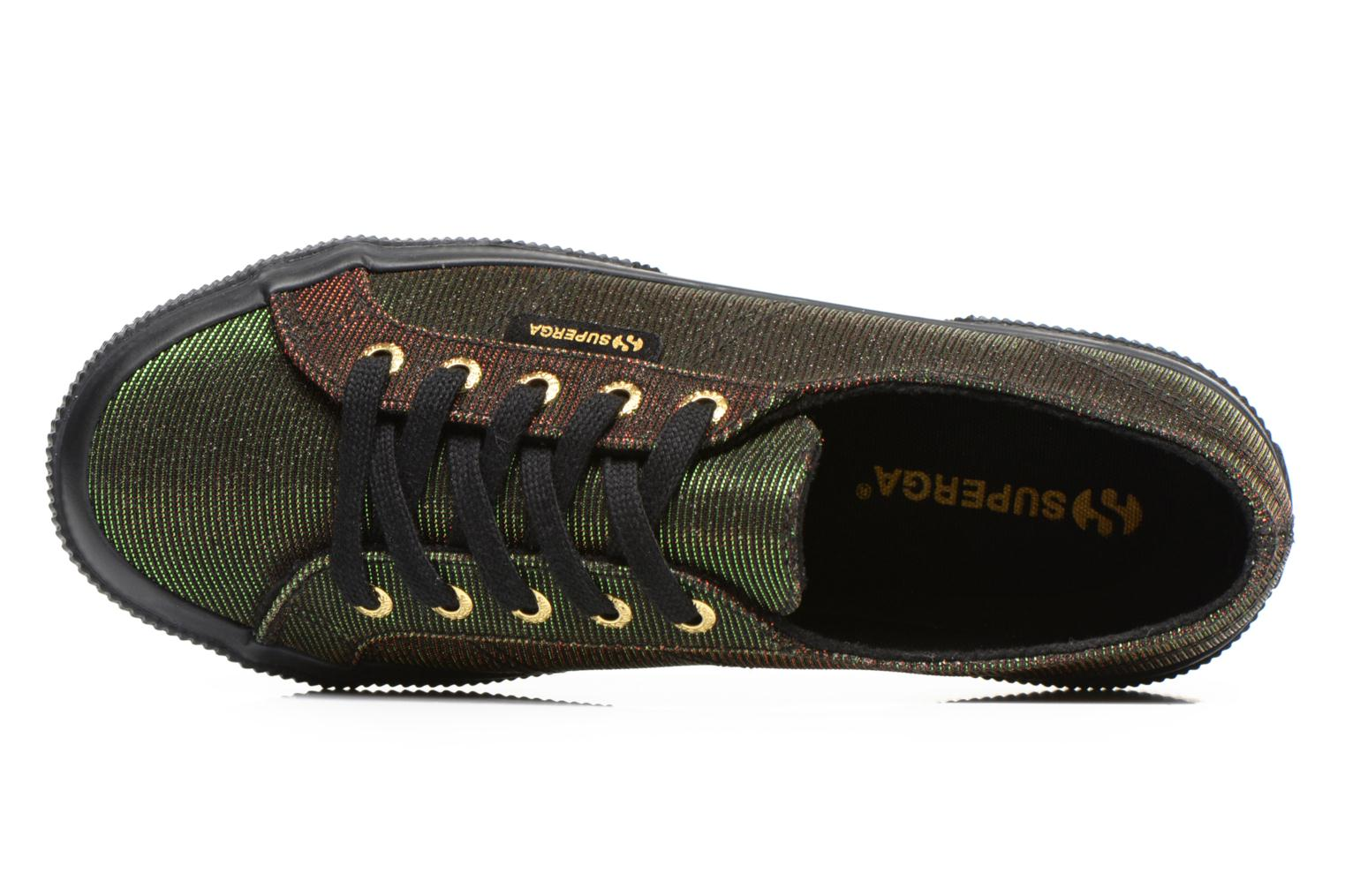 Trainers Superga 2750 Jersey Sunshine W Green view from the left