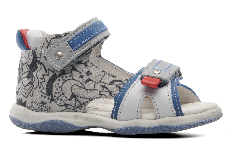 Sandales et nu-pieds Babybotte Tag 2 Gris vue derrière