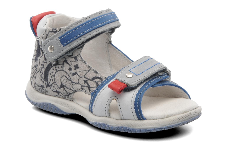 Sandales et nu-pieds Babybotte Tag 2 Gris vue détail/paire