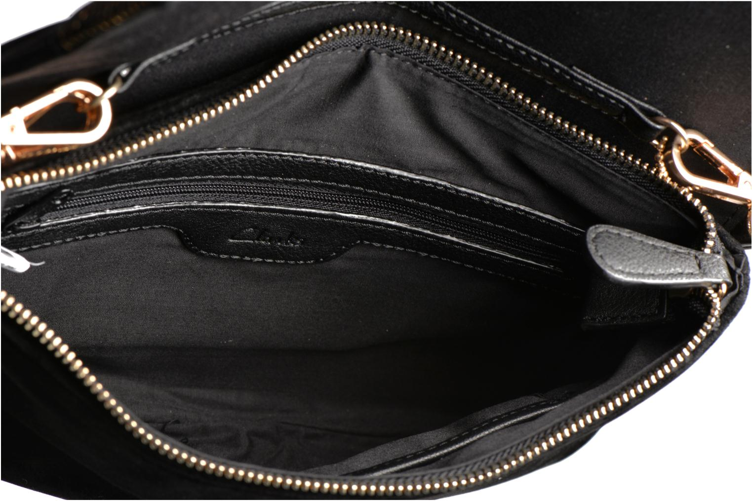 Clutch bags Clarks Just May Black back view