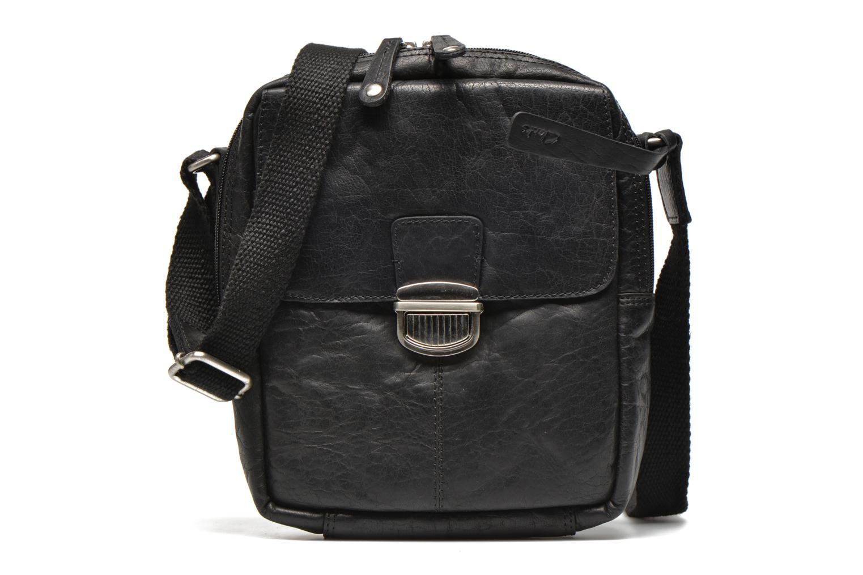 Thorley Close Black leather