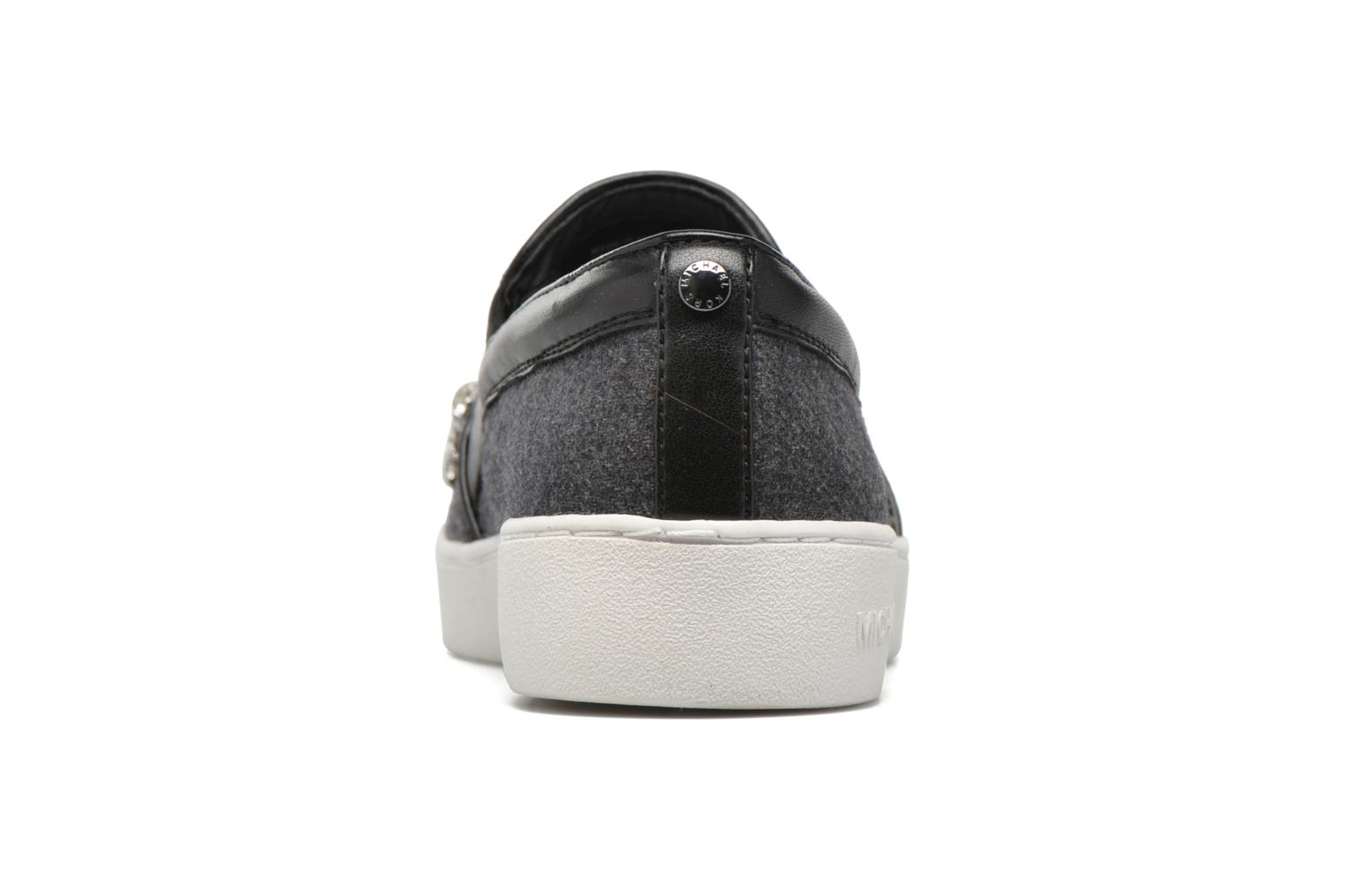 Baskets Michael Michael Kors Keaton Slip On Gris vue droite