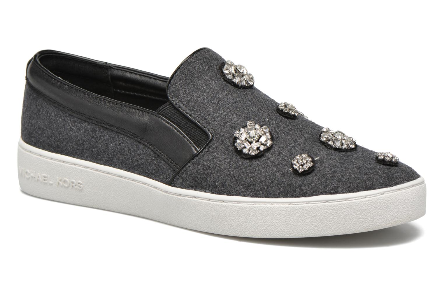 Baskets Michael Michael Kors Keaton Slip On Gris vue détail/paire