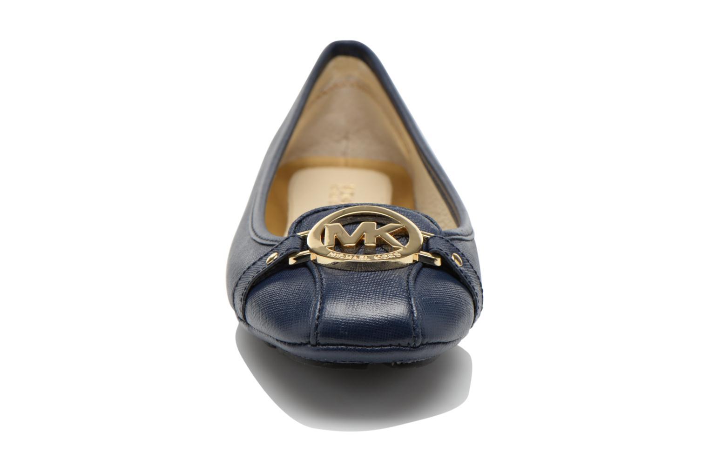 Ballerines Michael Michael Kors Fulton Driver Bleu vue portées chaussures