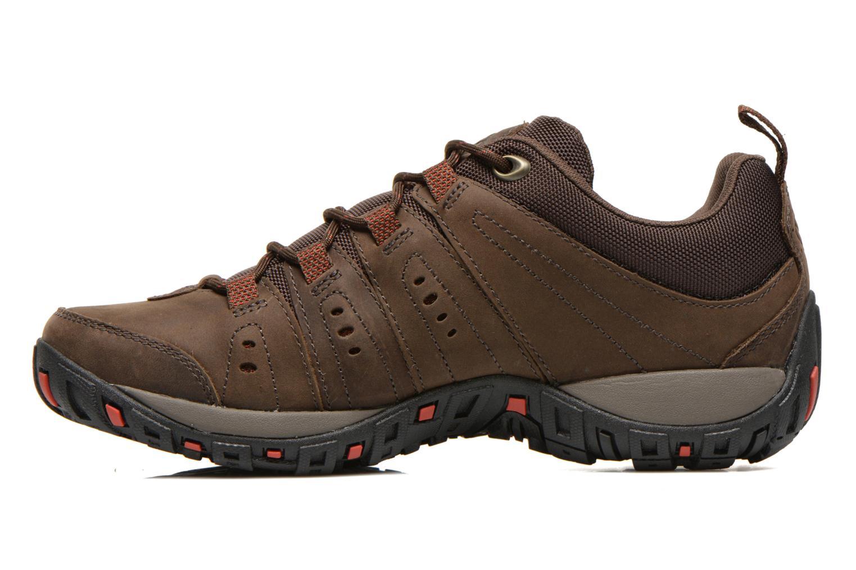 Chaussures de sport Columbia Woodburn Plus II Marron vue face