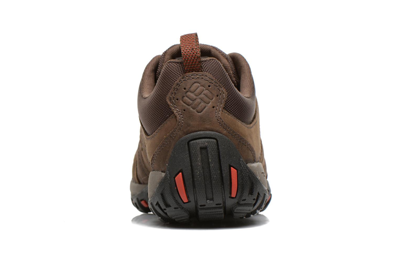 Chaussures de sport Columbia Woodburn Plus II Marron vue droite
