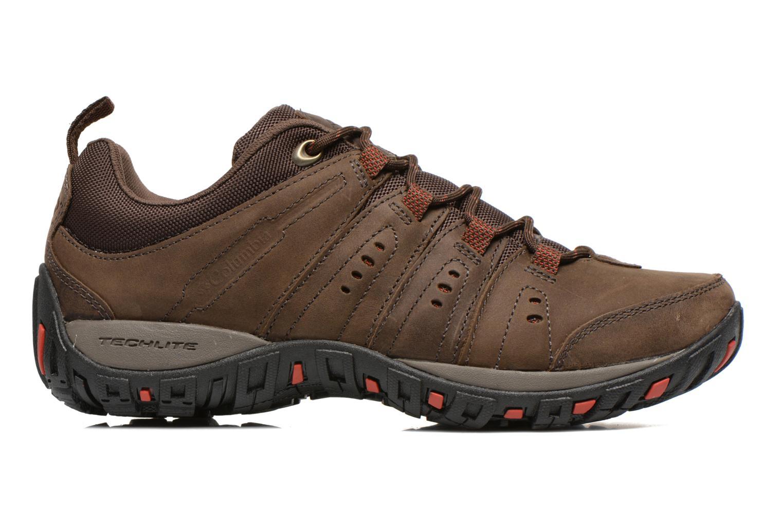 Chaussures de sport Columbia Woodburn Plus II Marron vue derrière