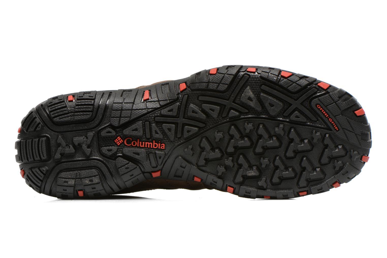 Chaussures de sport Columbia Woodburn Plus II Marron vue haut
