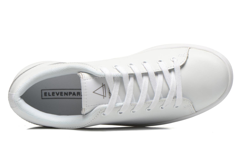 Sneaker Eleven paris 11PRS weiß ansicht von links