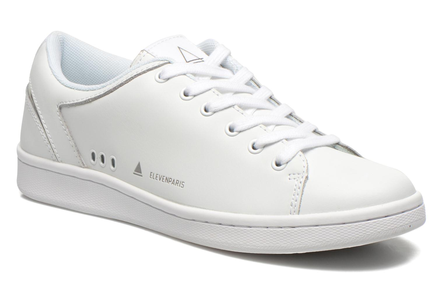 Trainers Eleven paris 11PRS White detailed view/ Pair view