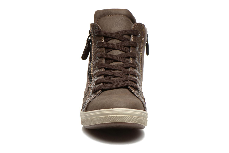 Sneaker I Love Shoes Susket braun schuhe getragen