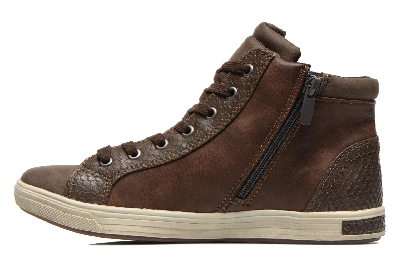 Baskets I Love Shoes Susket Marron vue face