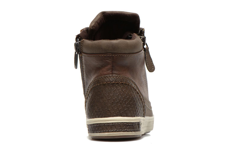 Baskets I Love Shoes Susket Marron vue droite