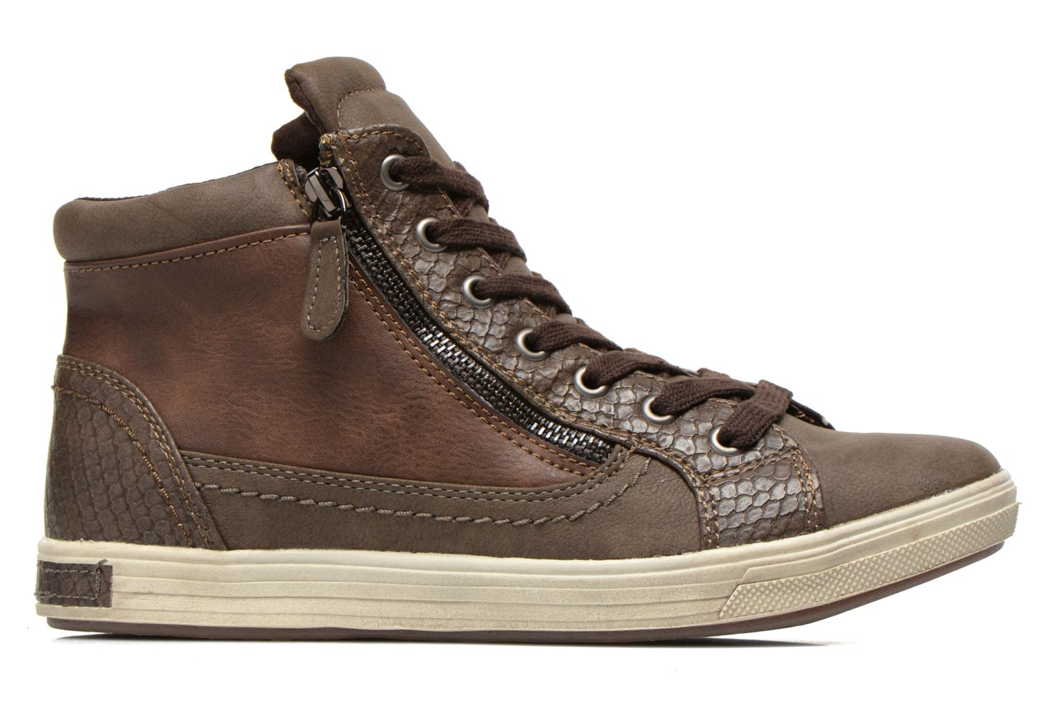 Sneakers I Love Shoes Susket Bruin achterkant