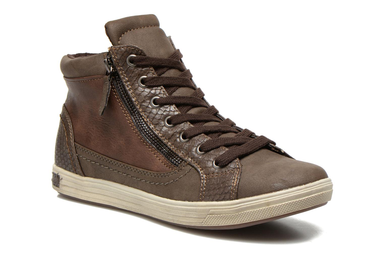 Sneaker I Love Shoes Susket braun detaillierte ansicht/modell