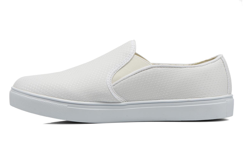 Sneaker Le temps des cerises Ava weiß ansicht von vorne