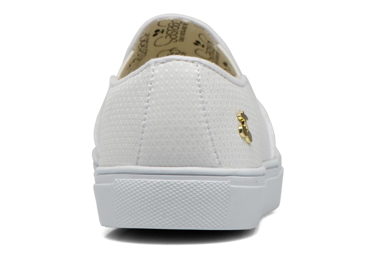 Sneaker Le temps des cerises Ava weiß ansicht von rechts