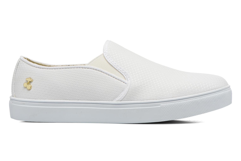 Sneaker Le temps des cerises Ava weiß ansicht von hinten