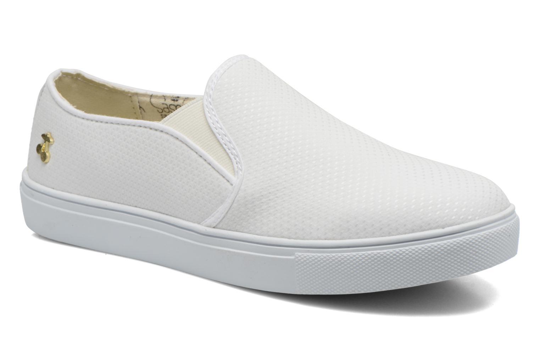 Sneakers Le temps des cerises Ava Wit detail