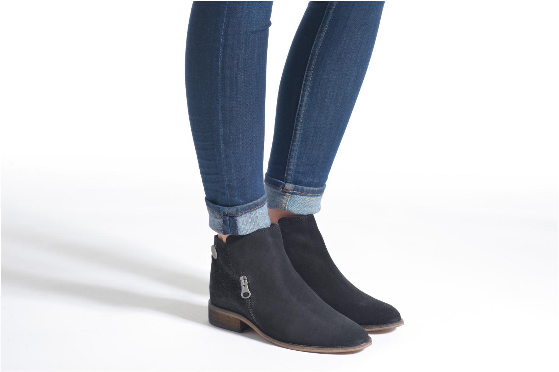 Stiefeletten & Boots Le temps des cerises Celeste schwarz ansicht von unten / tasche getragen