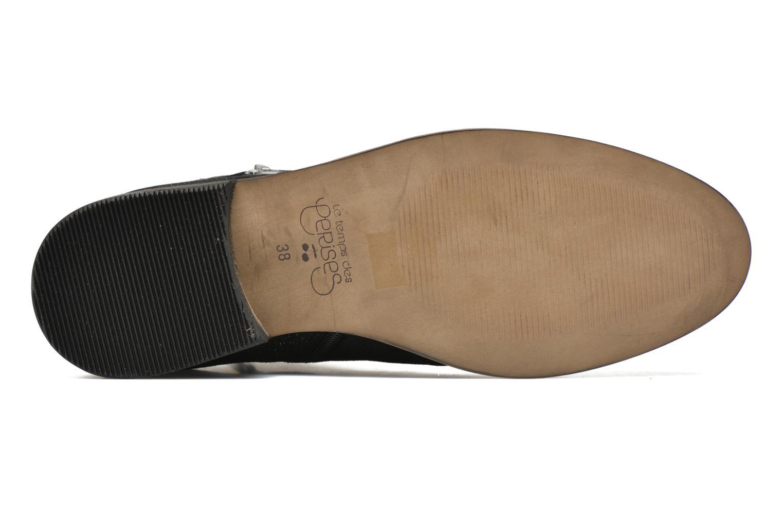 Stiefeletten & Boots Le temps des cerises Celeste schwarz ansicht von oben