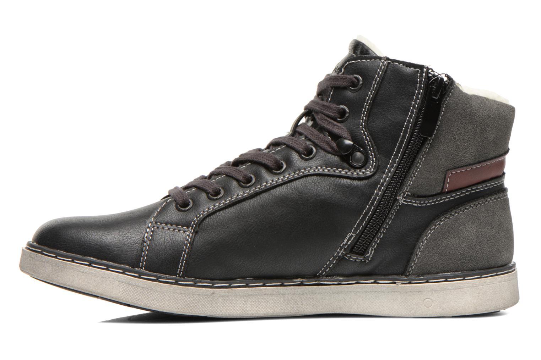 Sneaker I Love Shoes Sijack schwarz ansicht von vorne