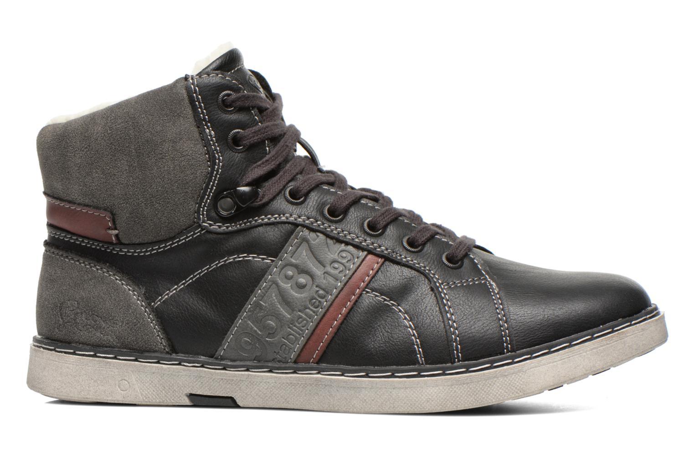 Sneaker I Love Shoes Sijack schwarz ansicht von hinten