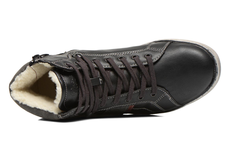 Sneaker I Love Shoes Sijack schwarz ansicht von links