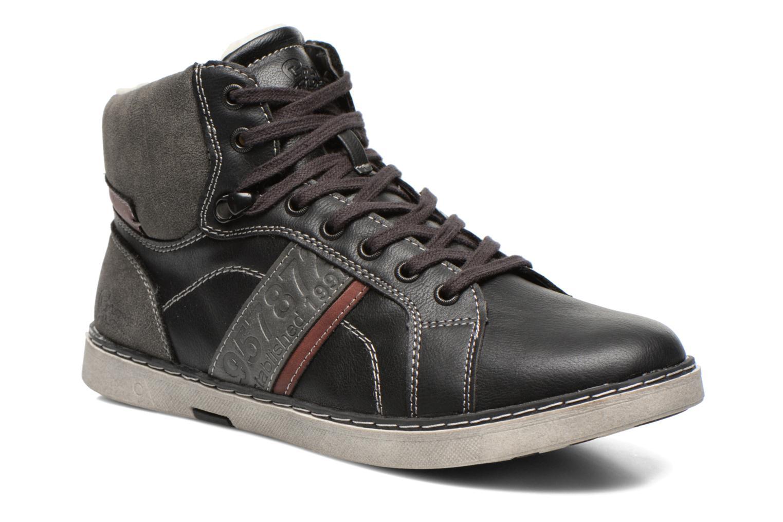 Sneakers I Love Shoes Sijack Zwart detail