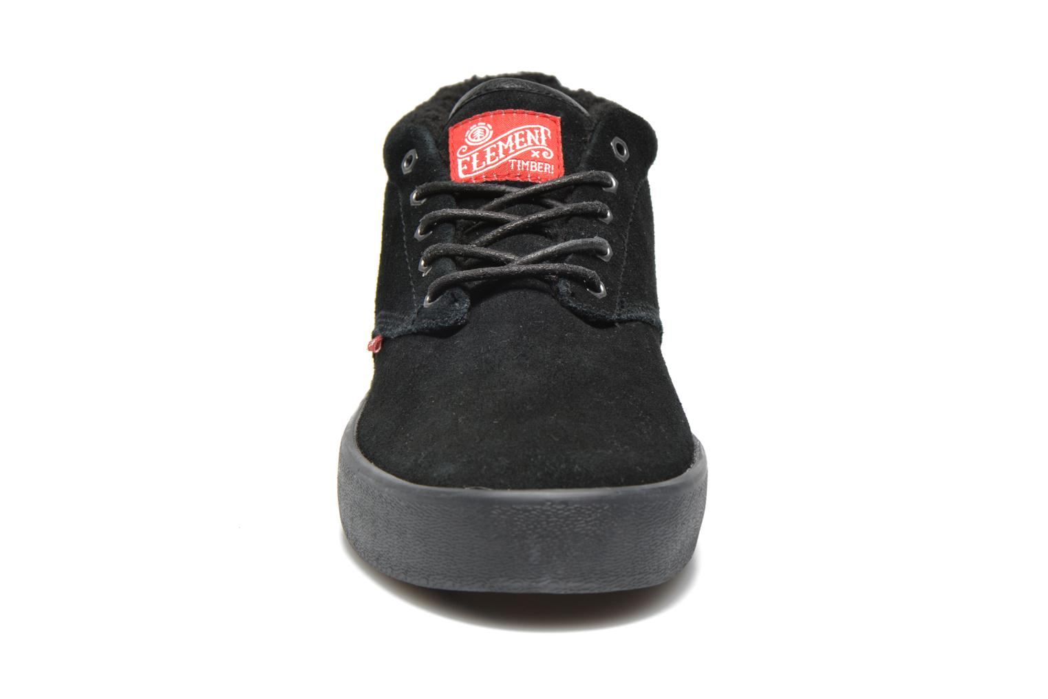 Baskets Element Preston Timber Go West Noir vue portées chaussures