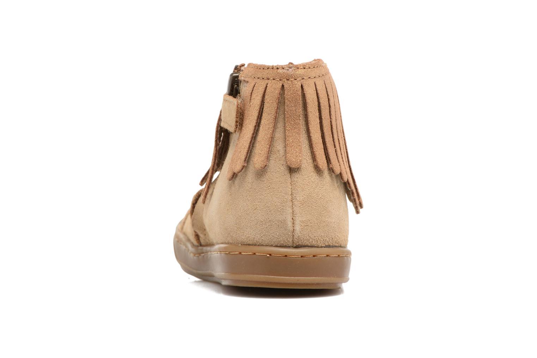 Bottines et boots Shoo Pom Bouba Fringe Marron vue droite