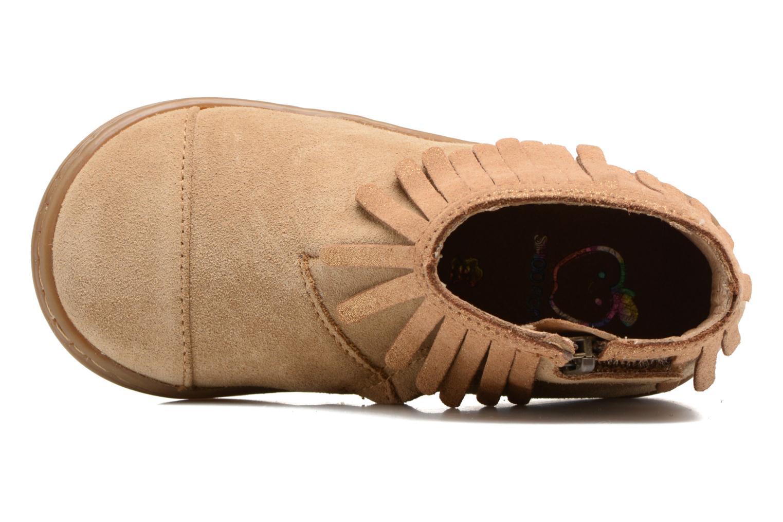 Bottines et boots Shoo Pom Bouba Fringe Marron vue gauche