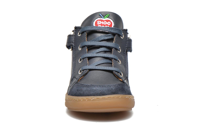 Bottines et boots Shoo Pom Bouba Bi Zip Lipiz Bleu vue portées chaussures