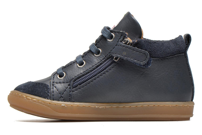 Ankle boots Shoo Pom Bouba Bi Zip Lipiz Blue front view